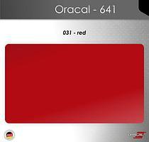 Пленка Оракал 641/красный (031)