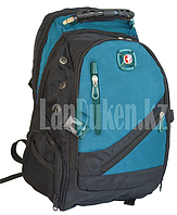Городской рюкзак SWISSGEAR и USB портом голубой