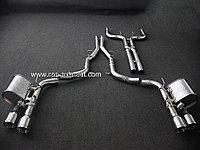 Выхлопная система на Maserati Ghibli (с регулировкой звука)