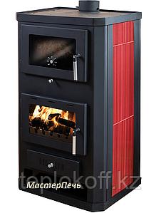 Отопительно-варочная печь-камин с духовкой Мастерпечь ПК-06