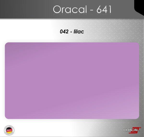 Пленка Оракал 641/сиреневый (042)