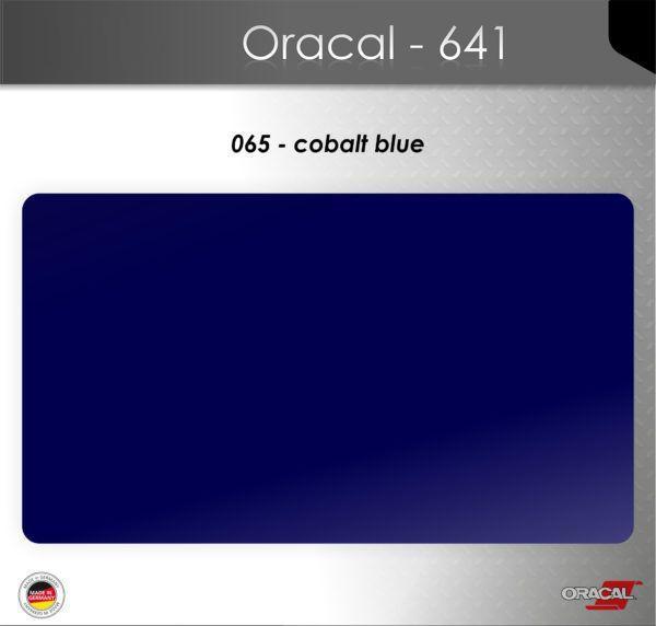 Пленка Оракал 641/кобальтовый синий (065)
