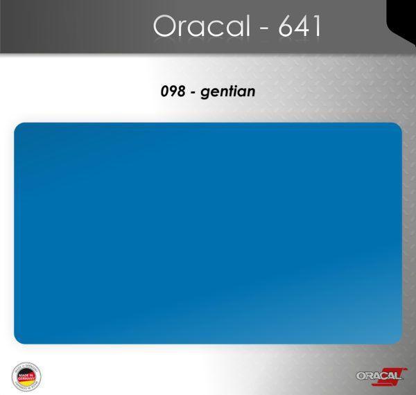 Пленка Оракал 641/генциановый (098)