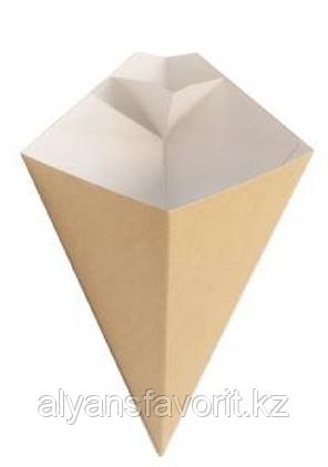 ECO CONE L  упаковка для картофеля фри. РФ, фото 2