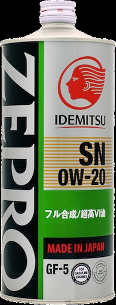 Моторное масло IDEMITSU 0W20 SN/GF-5 1L.