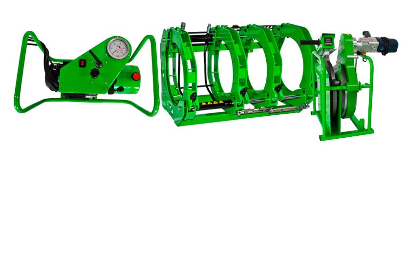 Аппарат для стыковой сварки полимерных труб MONSTER 315 GL