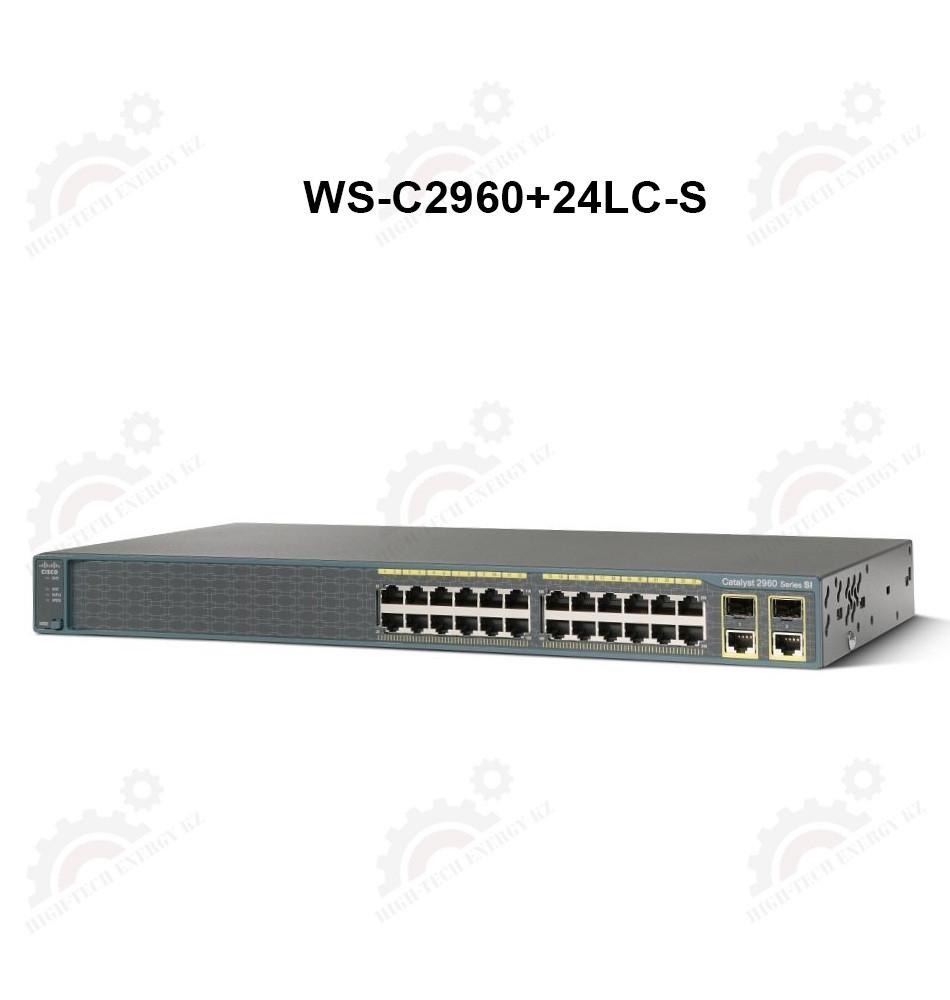 Catalyst 2960 Plus 24 10/100 (8 PoE) + 2 T / SFP LAN Lite