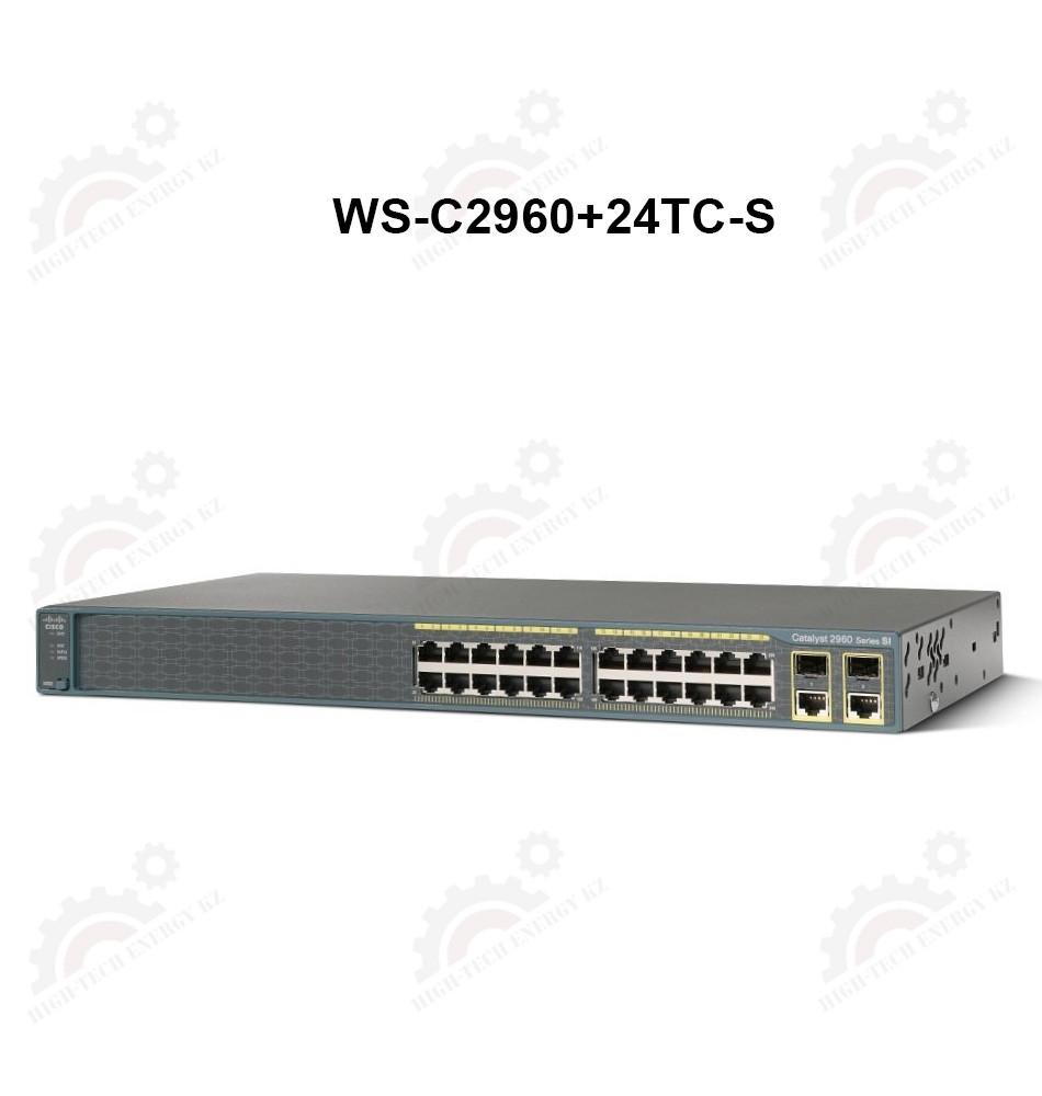 Catalyst 2960 Plus 24 10/100 + 2 T / SFP LAN Lite