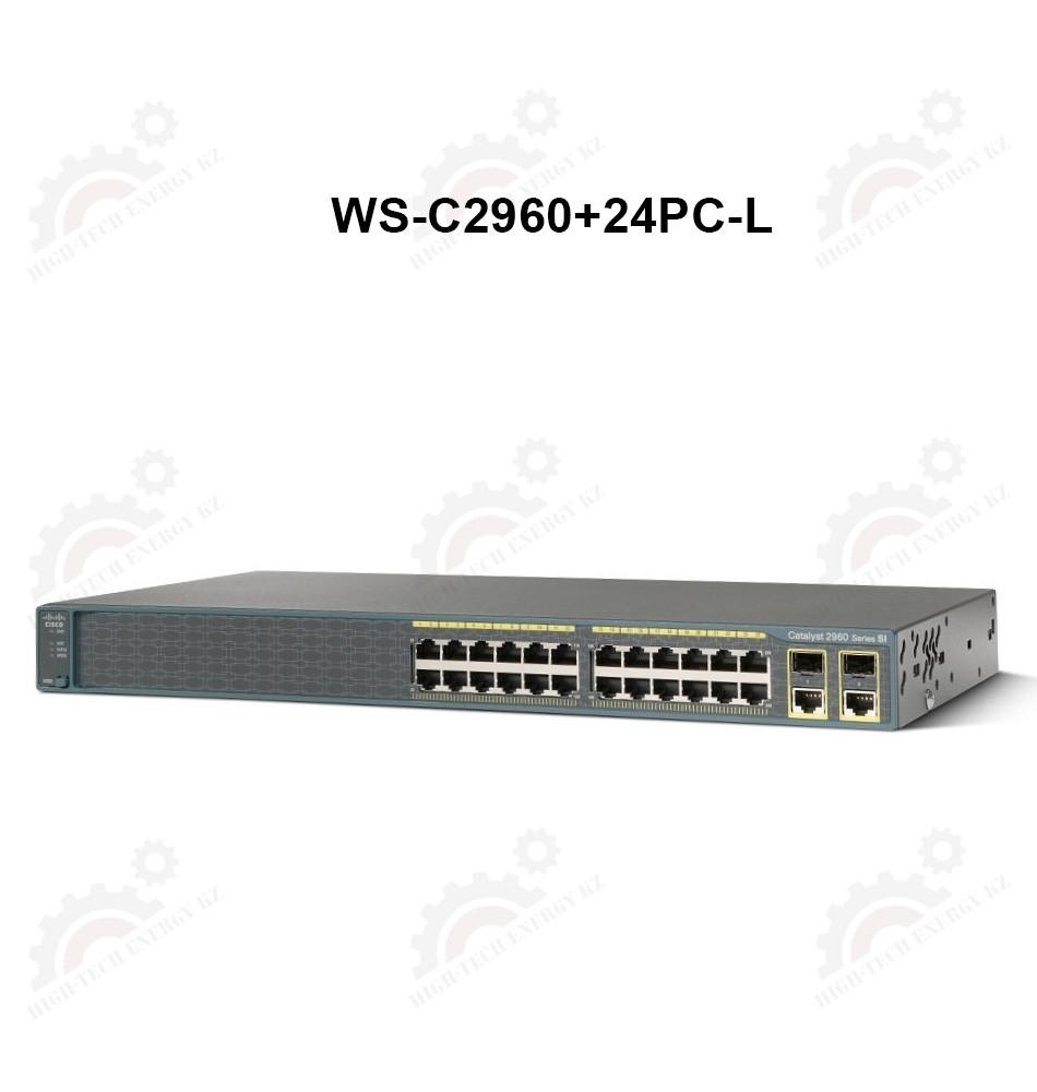 Catalyst 2960 Plus 24 10/100 PoE + 2 T / SFP LAN Base