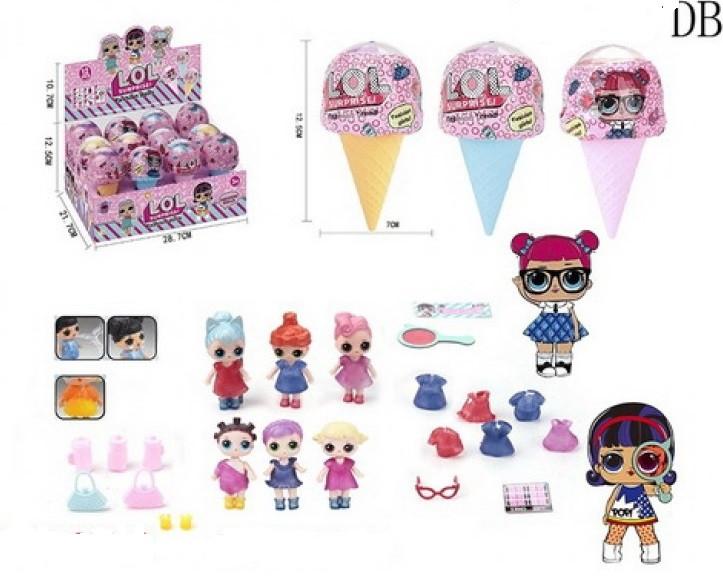 """Кукла серия """"Мороженое"""" (12 шт в упаковке) (1155*)"""