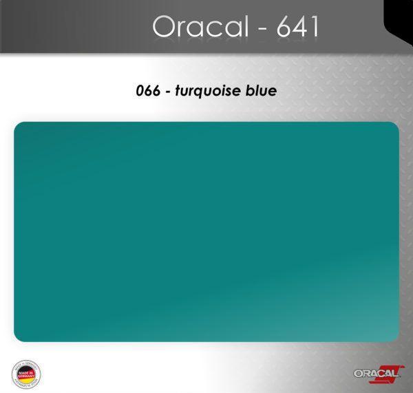 Пленка Оракал 641/бирюзово-синий (066)