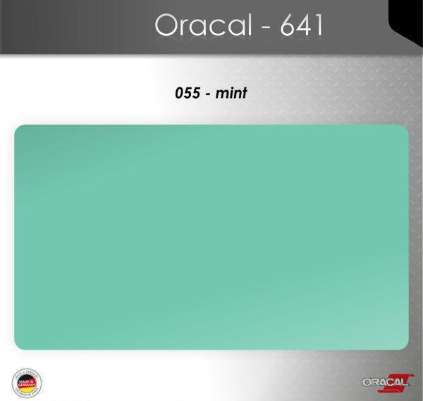 Пленка Оракал 641/цвет мяты (055)