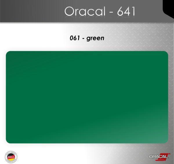 Пленка Оракал 641/зеленый (061)
