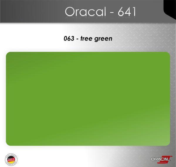 Пленка Оракал 641/липово-зеленый (063)