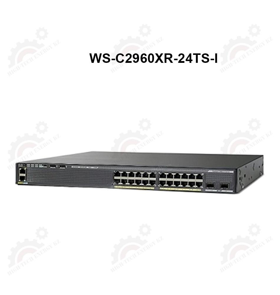 Catalyst 2960-XR 24 GigE, 4 x 1G SFP, IP Lite