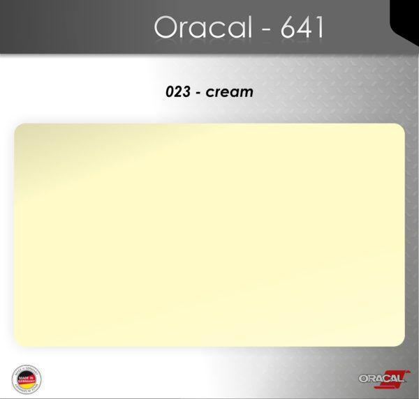 Пленка Оракал 641/кремовый (023)