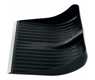 Лопата полипропиленовая 400х450, алюминиевая планка, фото 2