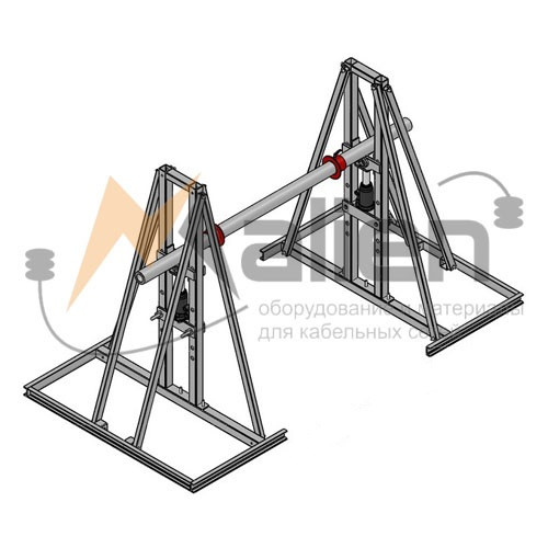 ДК-5ГМПР Домкрат кабельный гидравлический разборный, г/п до 5000 кг, до № 25)