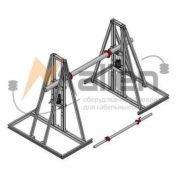 ДК-10ГПР Домкрат кабельный гидравлический разборный, г/п до 10000 кг, до №25