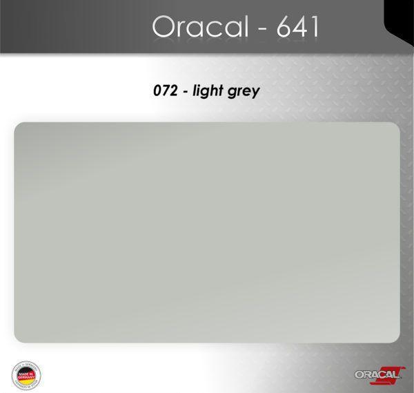 Пленка Оракал 641/светло-серый (072)