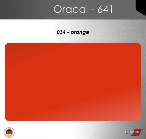 Пленка Оракал 641/оранжевый (034)