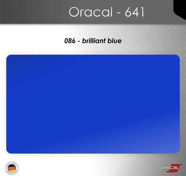Пленка Оракал 641/ярко-синий (086)