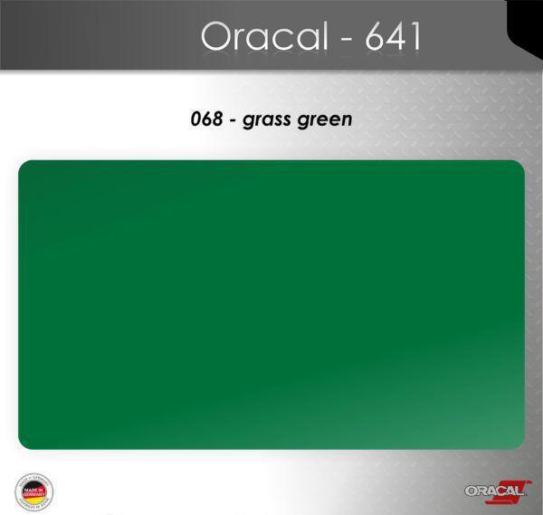 Пленка Оракал 641/зеленая трава (068)