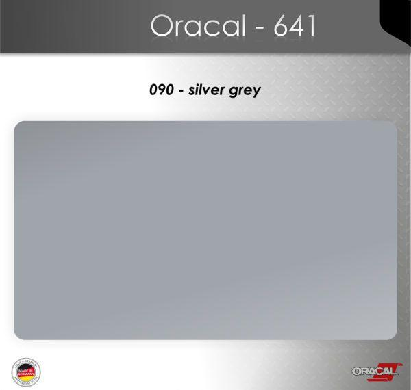 Пленка Оракал 641/серебристо-серый (090)