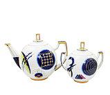 Чайный сервиз Кандинский блюз. Ручная роспись, авторская работа, фото 2