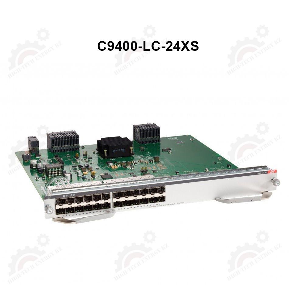 Cisco Catalyst 9400 Series 24-Port 10 Gigabit Ethernet(SFP+)