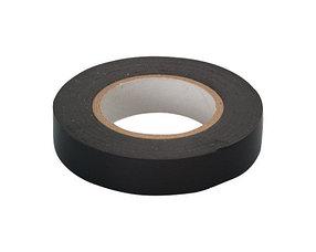 Изолента ПВХ, 15 мм х 10 м, 130 мкм, черная