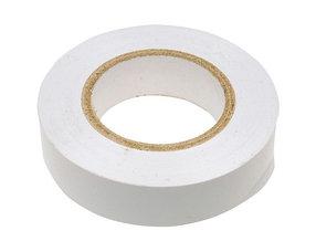 Изолента ПВХ, 15 мм х 10 м, 130 мкм, белая