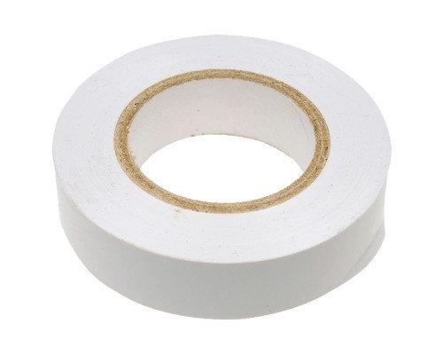 Изолента ПВХ, 15 мм х 10 м, 130 мкм, белая, фото 2