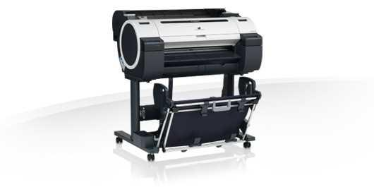 "Плоттер Canon imagePROGRAF iPF670 (24""/610mm/A1) 5 ink color, 2400 х 1200 dpi, auto cutter, USB2.0, Ethernet"