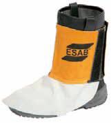 Гетры кожаные – защита обуви при сварке