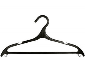 Вешалка пластик. для легкой одежды размер 46-48, 410 мм, 5 шт. в комплекте