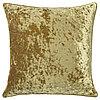 Чехол на подушку СЕБРИНА 50х50 бархат золотой ИКЕА, IKEA