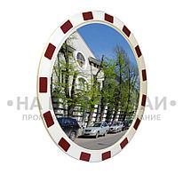Зеркало уличное круглое с окантовкой 900мм