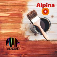 Лаки, эмали, лазури, деревозащита Caparol и ALPINA