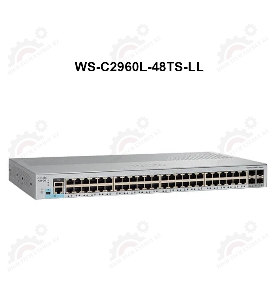 Catalyst 2960L 48 port GigE, 4 x 1G SFP, LAN Lite