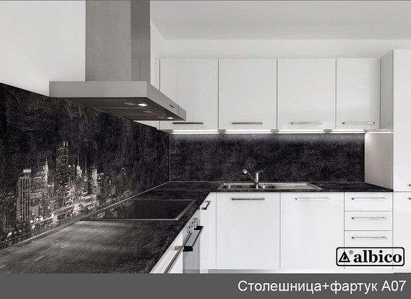 Комплект Панель + Столешница A 007 левая, фото 2