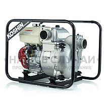 Бензиновая мотопомпа для сильно-загрязненных вод Koshin KTH-80X o/s