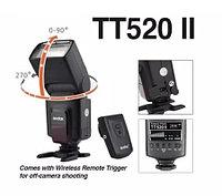 Фото Вспышка Godox ThinkLite TT520II накамерная универсальная, с синхронизатором