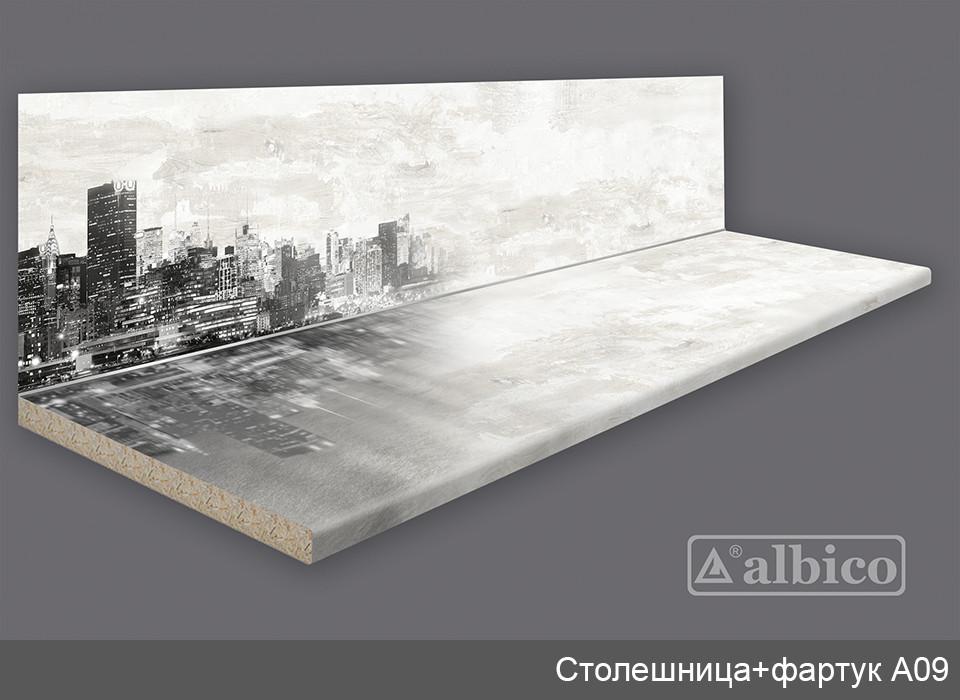 Комплект Панель + Столешница A 009 левая