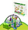 Развивающий коврик-манеж Черепашка Infantino activity gym