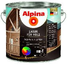 Материалы для защиты древесины Alpina