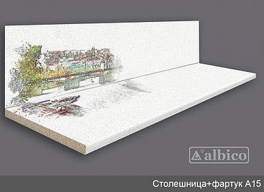 Комплект Панель + Столешница A 015 левая