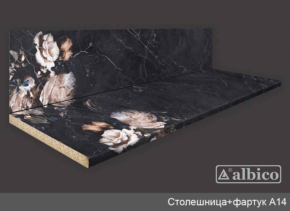 Комплект Панель + Столешница A 014 левая