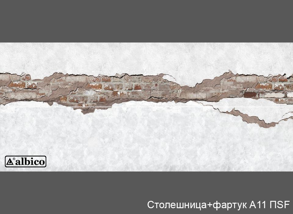 Комплект Панель + Столешница A 011 правая