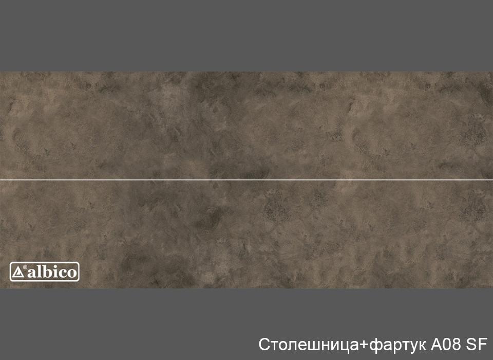 Комплект Панель + Столешница A 008 универсал (без рисунка)
